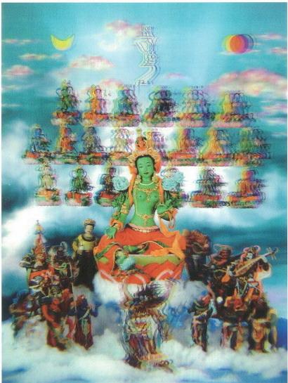 第三世多杰羌佛工巧明展显之佛像设计造型 第3张