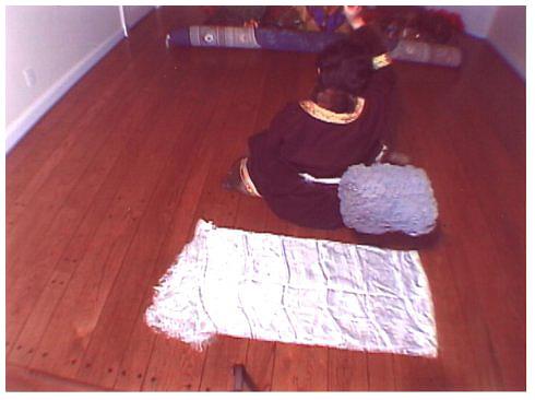 西藏女大活佛修法施展证量 430磅玛尼王石腾空飞 第2张