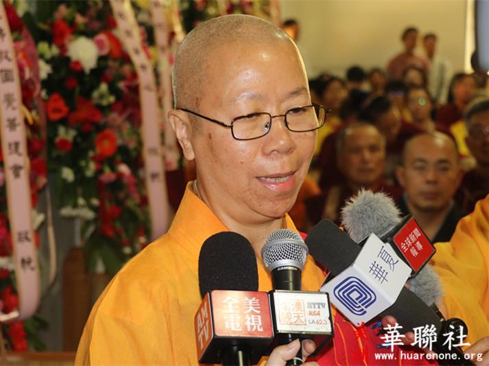 佛教成就圣德 佛教界为赵玉胜居士举办盛大告别法会 第4张