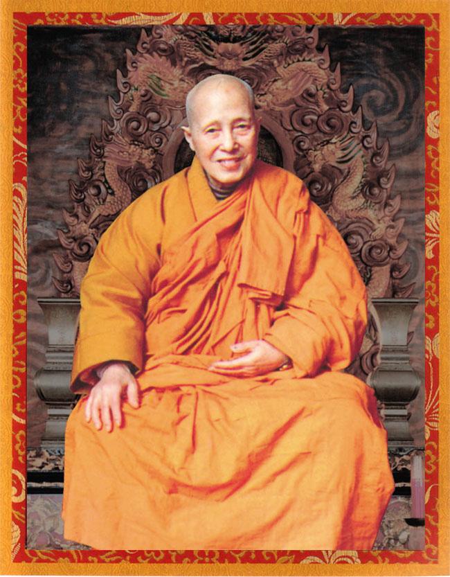 中国佛教第一高僧清定法师拜南无第三世多杰羌佛为师 第3张