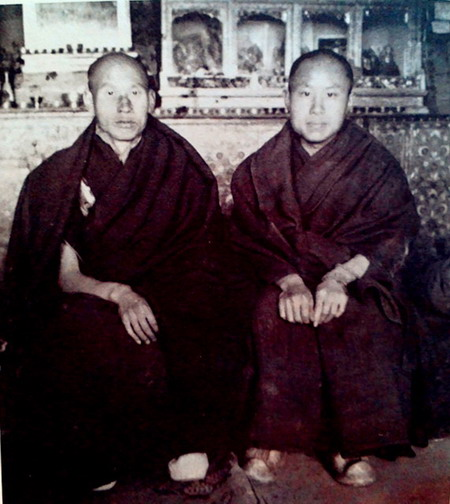 享誉世界的汉人拉然巴格西洛桑珍珠拜南无第三世多杰羌佛为师 第3张
