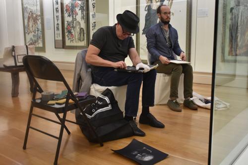 纽约艺院师生来旧金山美国国际艺术馆临摹 第1张