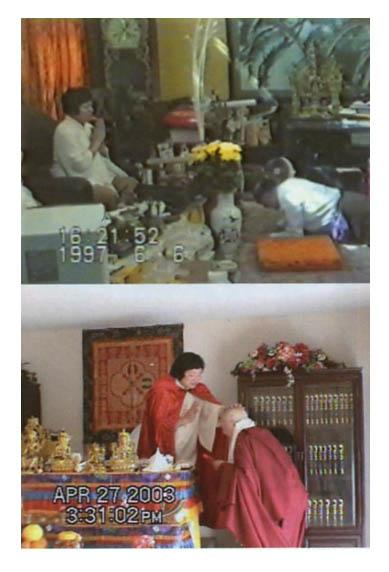 享誉世界的汉人拉然巴格西洛桑珍珠拜南无第三世多杰羌佛为师 第6张
