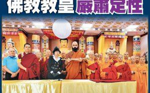 佛教教皇严肃定性